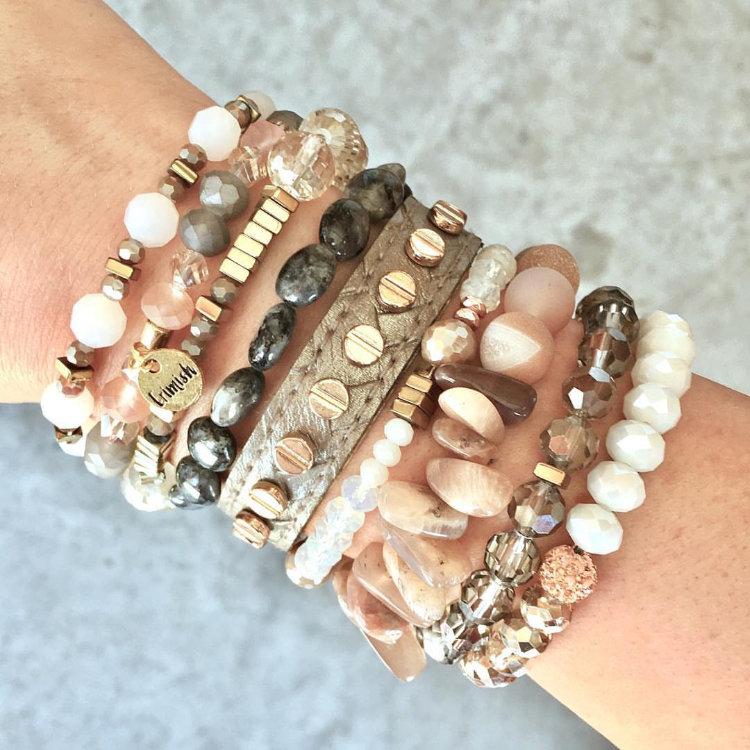 566d2133ca5028 25 Reasons Why Bracelet Stax Are Such A Hot Handmade Jewelry Trend ...